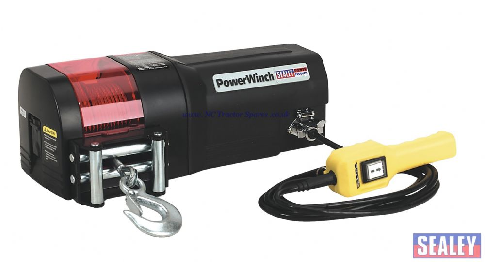 Recovery Winch 1134kg Line Pull 12V
